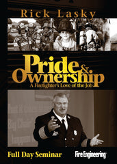 Pride & Ownership: A Firefighter's Love of the Job (Full Day Seminar)