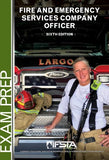 Fire and Emergency Services Company Officer, 6th Edition Exam Prep Print