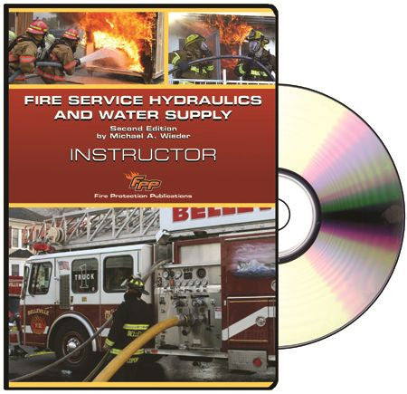Curriculum CD USB To Fire Service Hydraulics And Water