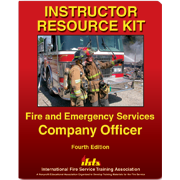 Instructor's Resource Kit for Fire and Emergency Services Company Officer, 4th Ed.