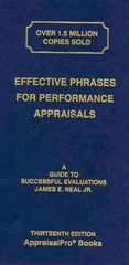 Effective Phrases for Performance Appraisals, 13th Ed.