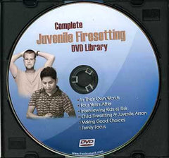 Complete Juvenile Firesetting Library on DVD