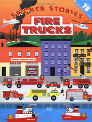 Fire Trucks: Sticker Stories