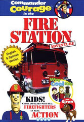 Commander Courage in the Fire Station