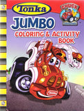 Tonka Jumbo Coloring & Activity Book