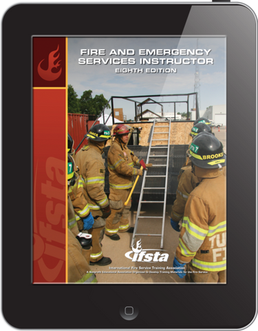 Usb curriculum for fire and emergency services instructor, 7th edition.