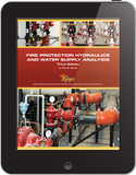 eBook Fire Protection Hydraulics and Water Supply Analysis, 3rd Ed.