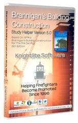 Brannigan's Building Construction for the Fire Service, 5th Ed., Knightlite Study Software
