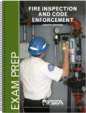 Fire Inspection and Code Enforcement, 8th Ed  Exam Prep (Print)