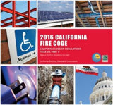 2016 California Fire Code, Title 24, Part 9