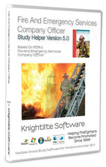 IFSTA's Fire & Emergency Services Company Officer, 5th Ed., Knightlite Study Software