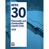 NFPA 30: Flammable and Combustible Liquids Code, 2018 Ed.