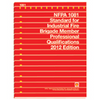 NFPA 1081: Standard for Industrial Fire Brigade Member Professional Qualifications, 2012 Edition