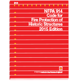 NFPA 914: Code for Fire Protection of Historic Structures, 2015 Edition