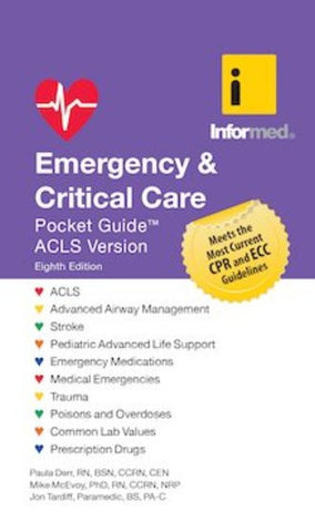 emergency critical care pocket guide acls version revised 8th ed rh firebooks com ACLS Book Guide ACLS Book Guide