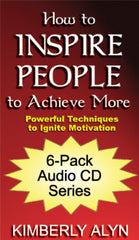 How to Inspire People to Achieve More 6-disc Audio CD-ROM