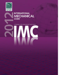 International Mechanical Code, 2012 Edition