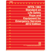 NFPA 1983: Standard on Life Safety Rope and Equipment for Emergency Services, 2012 Ed.