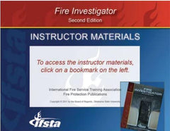 USB Curriculum for Fire Investigator, 2nd Ed.