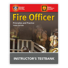 Fire Officer: Principles and Practice Instructor's TestBank 3rd Edition