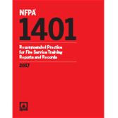 NFPA 1401: Recommended Practice for Fire Service Training Reports and Records