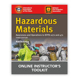 Hazardous Materials Awareness and Operations, 3rd Ed. Online Instructor's Toolkit
