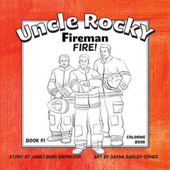 Uncle Rocky, Fireman - Book 1 - Activity and Coloring Book