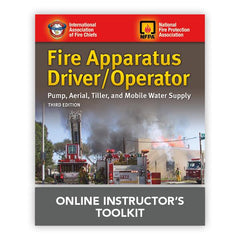 Fire Apparatus Driver/Operator: Pump, Aerial, Tiller, and Mobile Water Supply, 3rd Edition Online Instructor's Toolkit