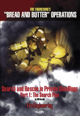 Search and Rescue in Private Dwellings Part I: The Search Plan