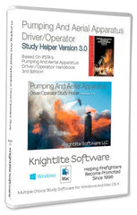 IFSTA's Pumping & Aerial Apparatus Driver/Operator, 3rd. Ed. Knightlite Study Software