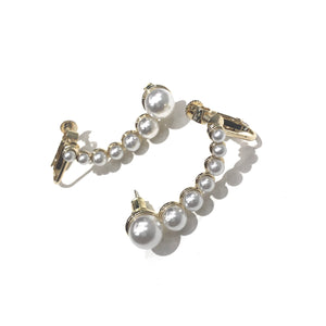 pearl line cuff pierce