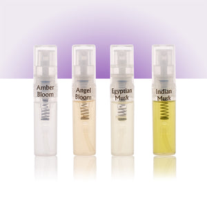 Perfume Oil Mist Sampler - 8 Perfume Samples (2ml Spray Bottles) by Zoha Fragrances