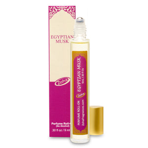 Egyptian Musk (No Alcohol) Perfume Oil Roller by Zoha Fragrances