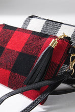 Load image into Gallery viewer, Buffalo Plaid Wristlet