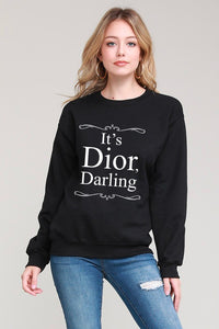 Dior Darling Sweatshirt