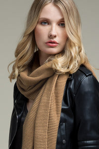 Taupe Oblong Scarf
