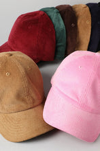 Load image into Gallery viewer, Corduroy Baseball Cap