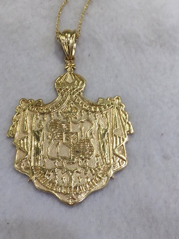 Hawaiian coat of arms Pendant
