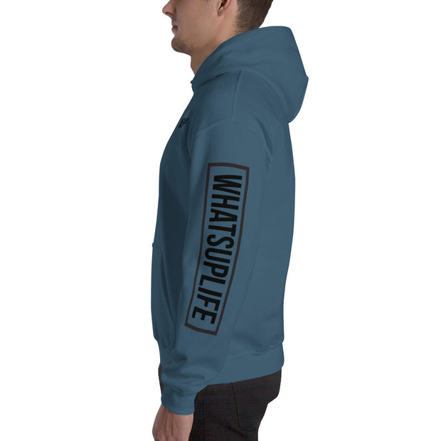 Repeated Skater Hoodie - (5 Colors)