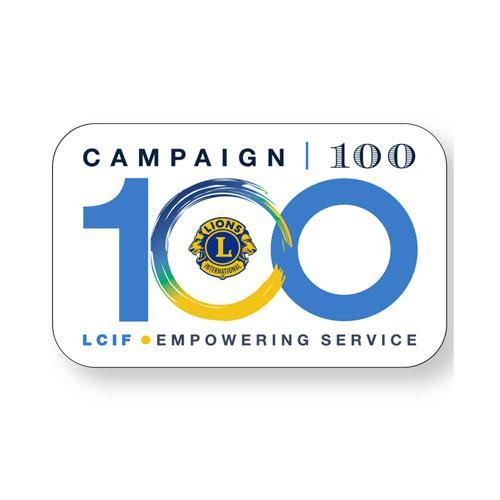 CAMPAIGN 100 BUTTON 10/PACK