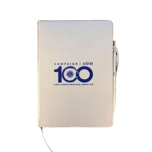 CAMPAIGN 100 SILVER NOTEBOOK