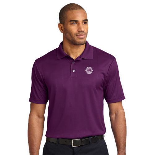 JACQUARD MENS POLO