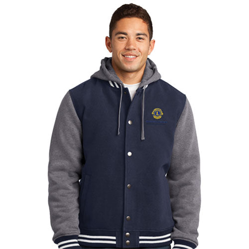 MENS INSULATED LETTERMAN JACKET