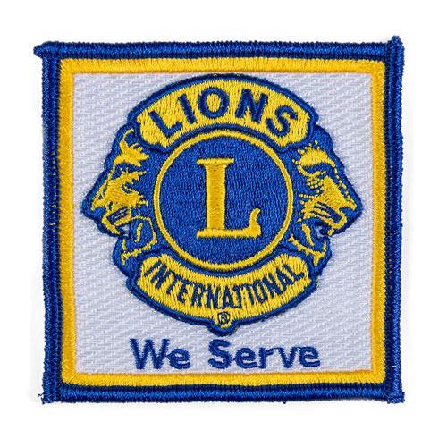 3D WE SERVE EMBROIDERED PATCH