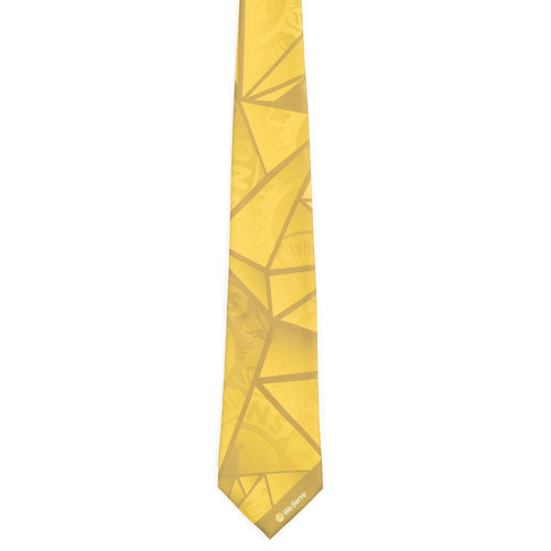 STAINED GLASS POLY YELLOW TIE