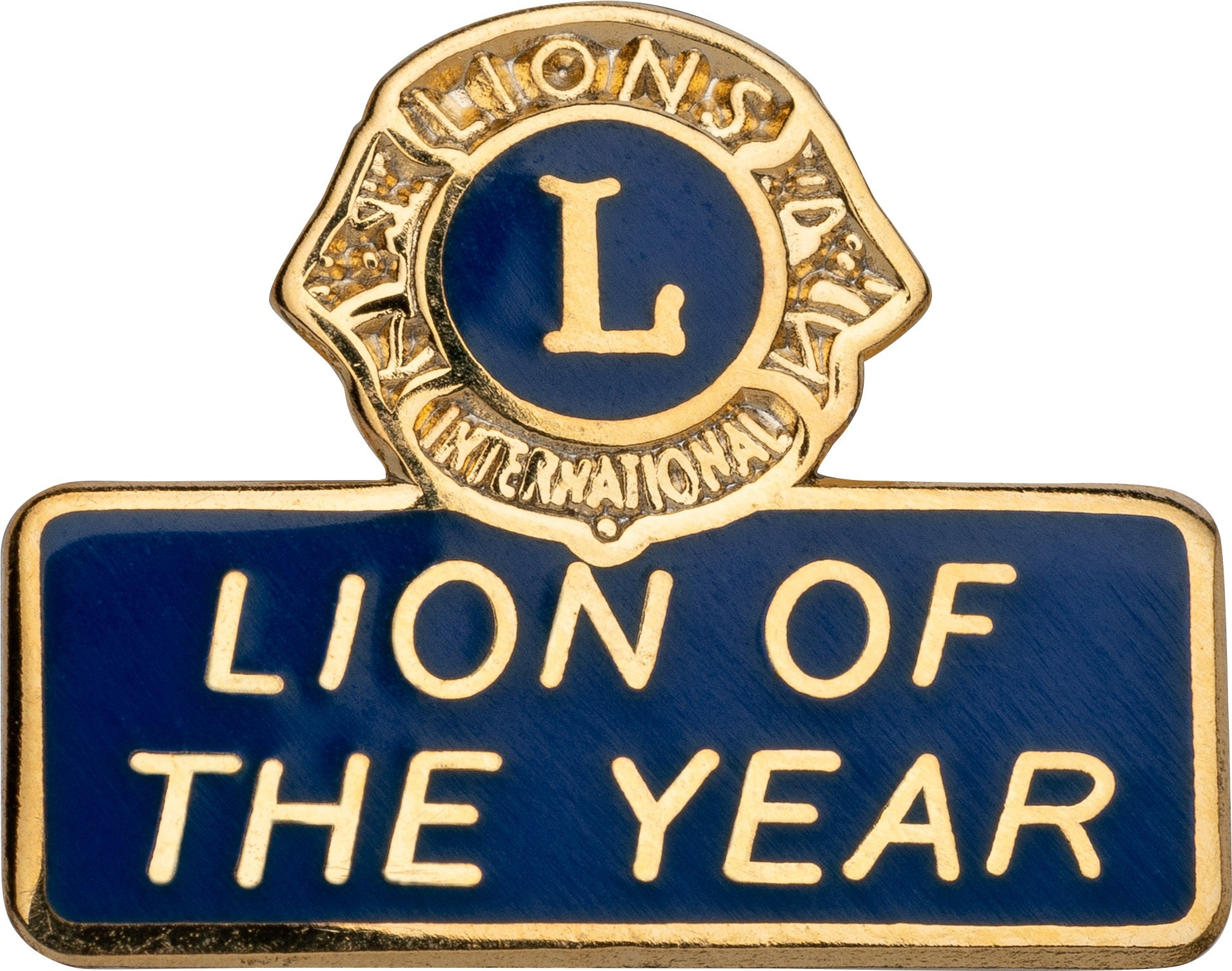 LION OF THE YEAR LAPEL TACK