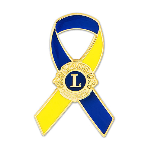 LCI SUPPORT RIBBON LAPEL TACK