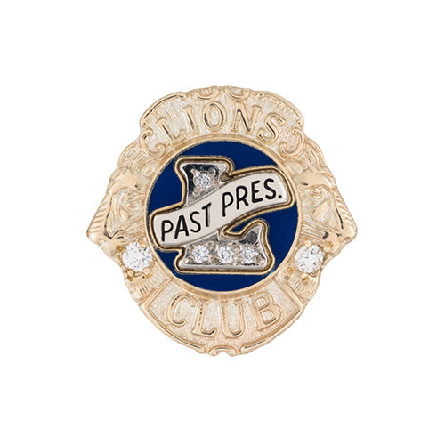 PAST PRESIDENT DELUXE LAPEL TACK
