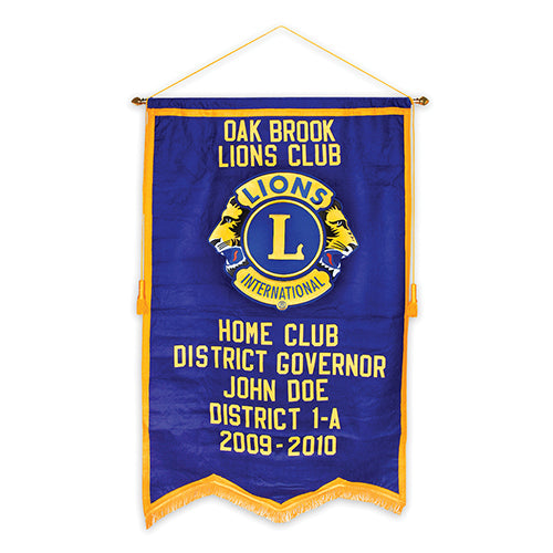 DISTRICT GOVERNOR BANNER