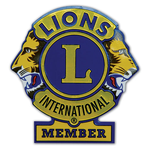 LIONS INTL MEMB DECAL